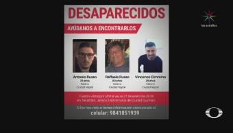 Sin rastro de los italianos desaparecidos en Jalisco