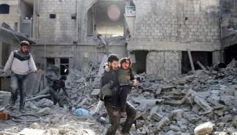 Theresa May, horrorizada por masacre de civiles en Guta, Siria