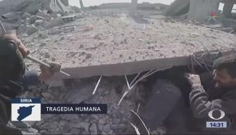 Siria Vive Peores Bombardeos Últimos Cinco Años