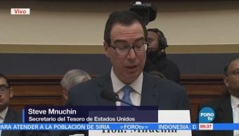 Steven Mnuchin destaca bondades de la reforma fiscal