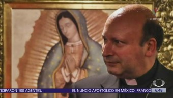 Sufre accidente automovilístico el nuncio apostólico en México