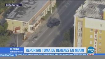Sujeto Armado Toma Rehenes Restaurante Miami