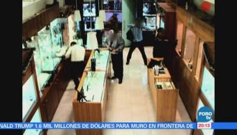 Suman 17 detenidos por robo a una joyería en Uruguay