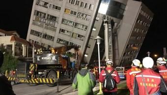 Sismo en Taiwán deja al menos dos muertos y 150 heridos