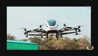 Taxi drone realiza primer vuelo
