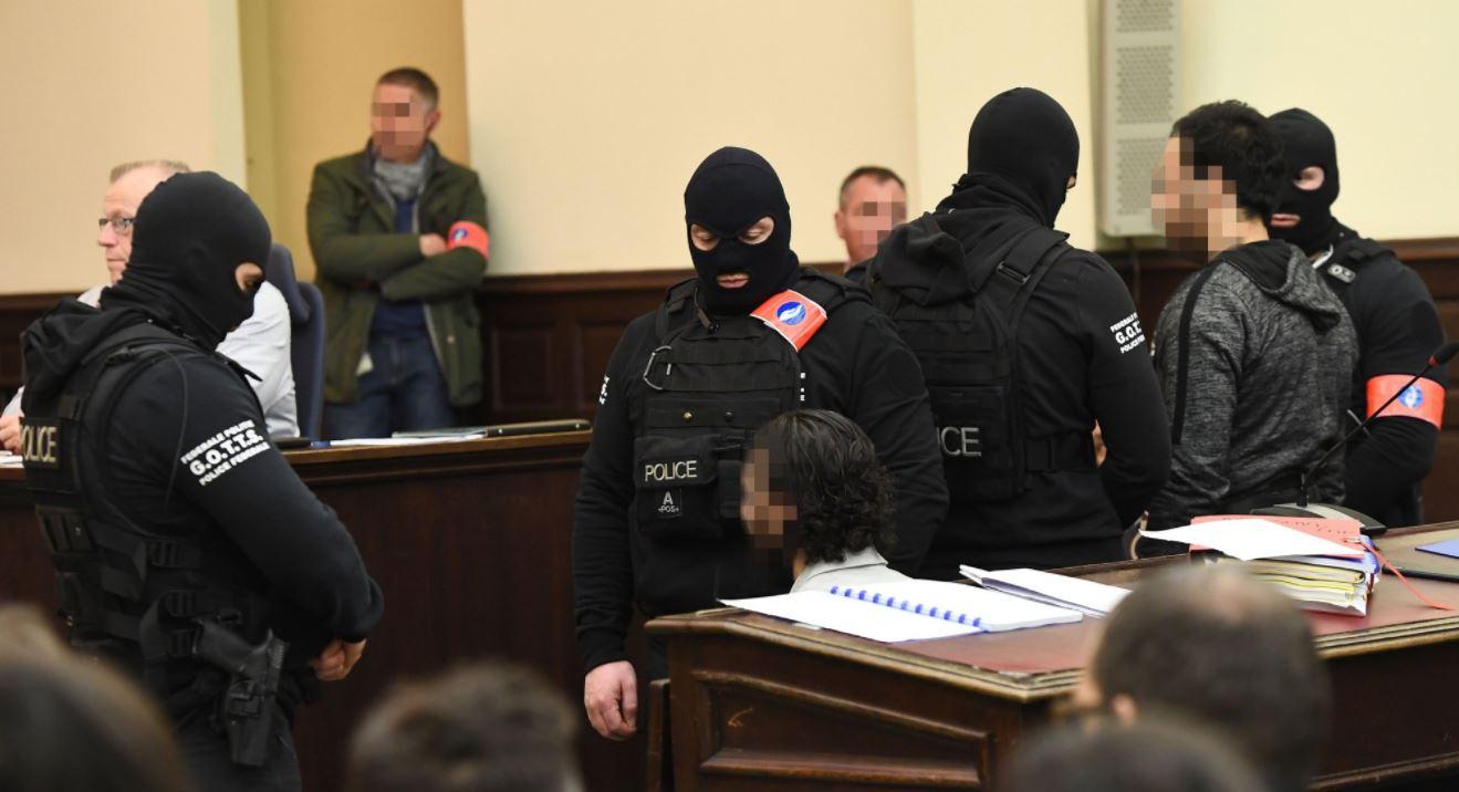 Sospechoso rechaza responder a tribunal belga