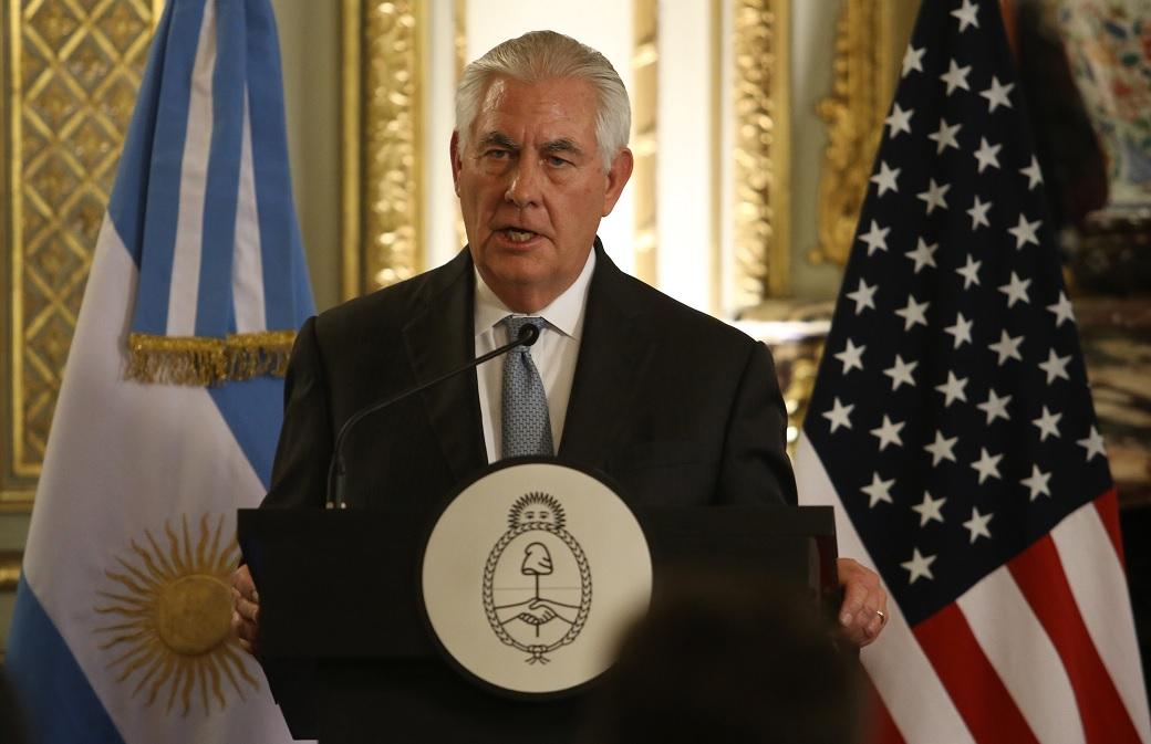 Cuba considera que declaraciones de Tillerson llaman a golpe militar en Venezuela