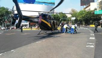 Delincuentes lesionan con arma de fuego a policía en La Raza