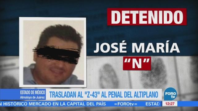 Trasladan al 'Z-43' al Penal del Altiplano