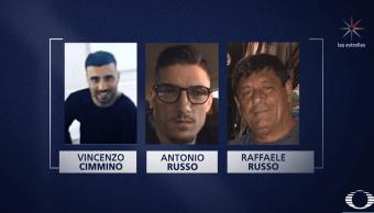 Dictan prisión preventiva a cuatro policías involucrados en desaparición de italianos