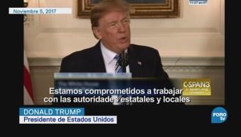Trump atribuye tiroteos a problemas de salud mental