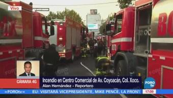 Intoxicado Incendio Centro Comercial Coyoacán