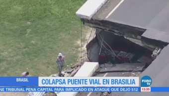 Puente Vial Colapsa Brasilia