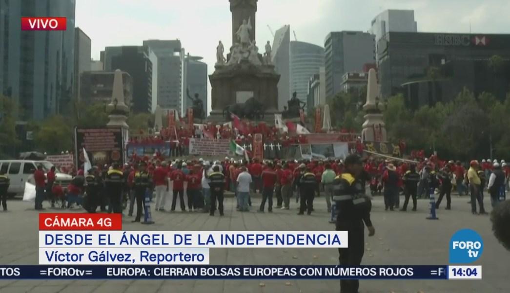 Víctor Gálvez Informa Manifestación Ángel De La Independencia