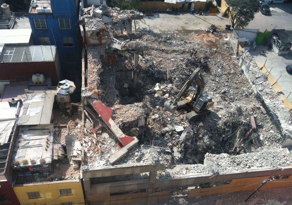 concluye demolicion sismo roma inmueble norte