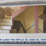 Viviendas registran grietas tras sismo en Pinotepa Nacional, Oaxaca