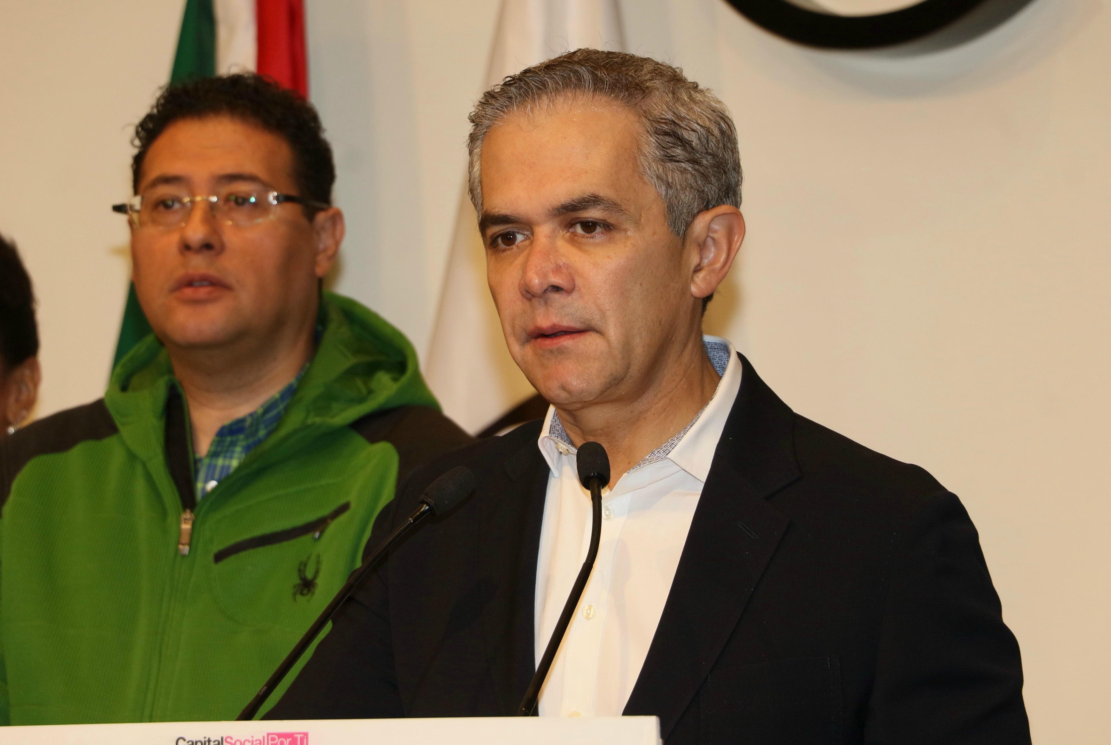 Desiste Madero de impugnación vs Mancera