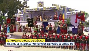175 representación de viacrucis en Iztapalapa