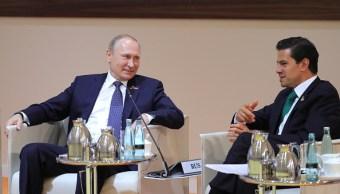 EPN felicita a Putin por su reelección presidencial en Rusia