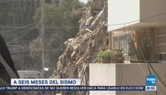 A 6 meses del sismo del 19-s en la CDMX