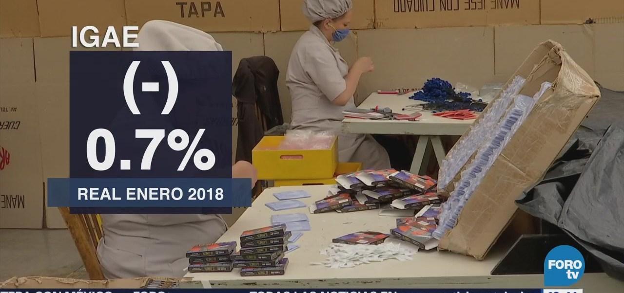 Actividad Económica México Disminuye 0.7% Durante Enero Inegi