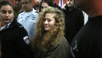 Defensa de Ahed Tamimi acuerda con Fiscalía israelí ocho meses de prisión