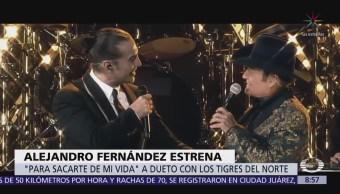 Alejandro Fernández y Los Tigres del Norte hacen dueto