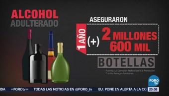 Alcohol adulterado en México