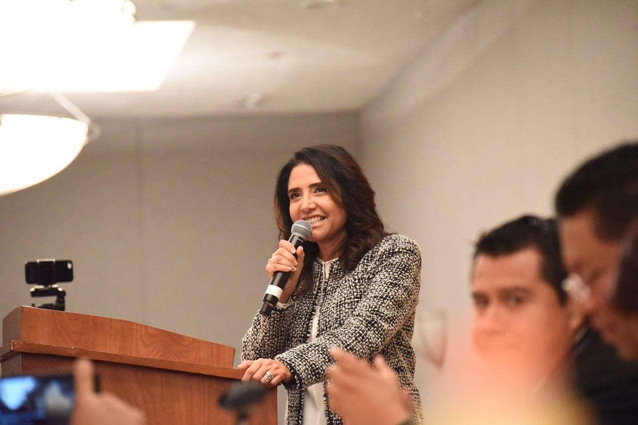 Alejandra Barrales, a favor de consulta ciudadana sobre parquímetros