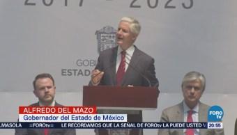 Alfredo Del Mazo presenta el Plan de Desarrollo 2017-2023