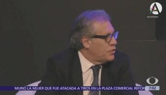 Almagro afirma que es mejor investigar a candidato que a un presidente