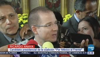 Anaya critica lista de plurinominales del PRI