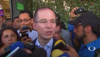 Anaya pide a la OEA observadores internacionales para el 1 de julio