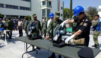 Destruyen más de 800 armas de fuego en Chiapas