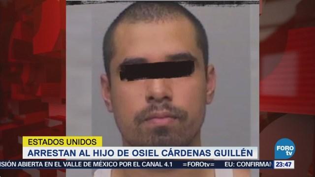 Arrestan al hijo de Osiel Cárdenas