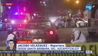 Asesinan a automovilista en la delegación Azcapotzalco