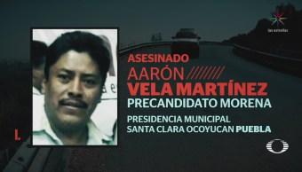 Asesinan a precandidato de Morena a presidencia municipal de Ocoyucan