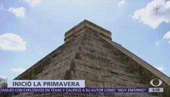 Así recibieron el equinoccio de primavera en Teotihuacán