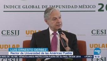 Aumenta la impunidad en México, señala Luis Ernesto Derbez