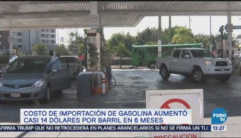 Aumento Costo Gasolina Compras Externas Combustible Pablo González