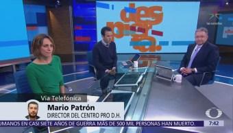 Avances del caso Ayotzinapa; Mario Patrón en entrevista para Despierta con Loret