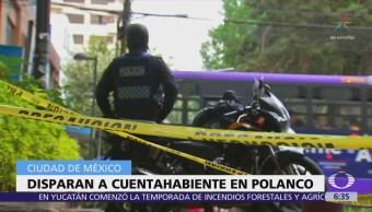 Balean a hombre y le roban 300 mil pesos en Polanco, CDMX