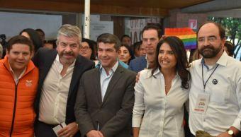 Alejandra Barrales se registra como candidata a jefa de Gobierno de la CDMX