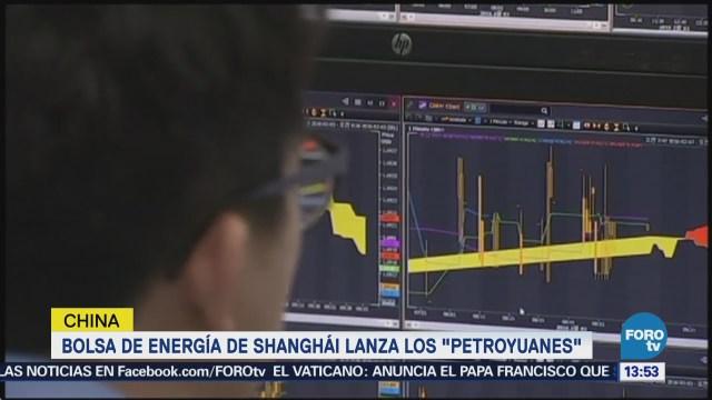 Bolsa de energía de Shanghái lanza los 'petroyuanes'