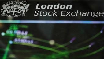 Bolsas europeas alcanzan mayor nivel en casi dos semanas