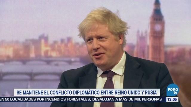 Boris Johnson asegura que tiene evidencia de que Rusia almacenó Novichok