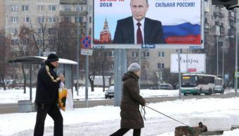 Vladimir Putin pide a los rusos votar en elecciones presidenciales. (Gettyimages)