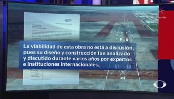 Canaero inconforme por discusión de viabilidad del nuevo aeropuerto