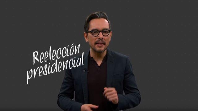 #DespejandoDudas, DespejandoDudas, Despejando, Dudas, Genaro Lozano, Reelección, presidencial