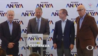Castañeda se suma al equipo de Anaya